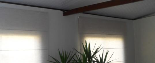 Cortina Romana Forro PVC